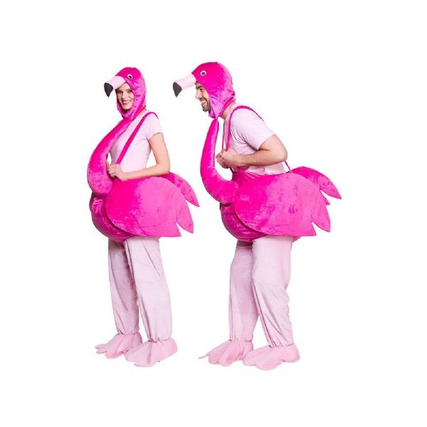 Adults Adult Flamingo Costume Unisex Fancy Dress